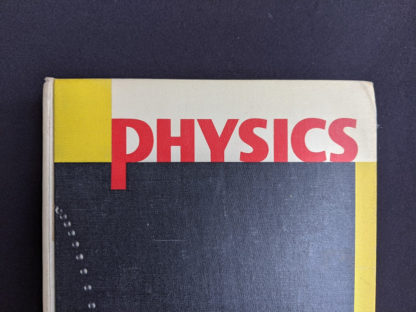 Physics - Physical Science Study Committee - 1960 First Edition - front cover up close
