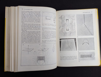 The Magnetic Field pages inside a 1960 copy of Physics - Physical Science Study Committee - First Edition