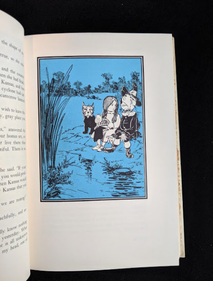 illustration by Denslow in a 1962 copy of The Wizard of Oz published by Macmillan Company