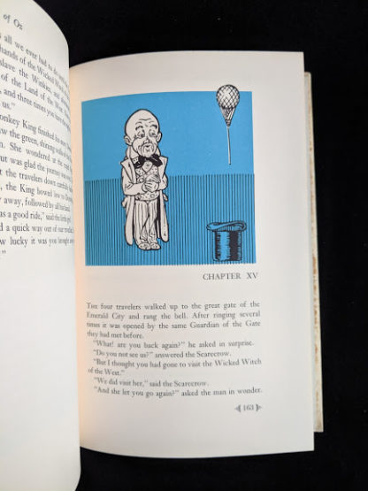 illustration by Denslow inside a 1962 copy of The Wizard of Oz published by Macmillan Company