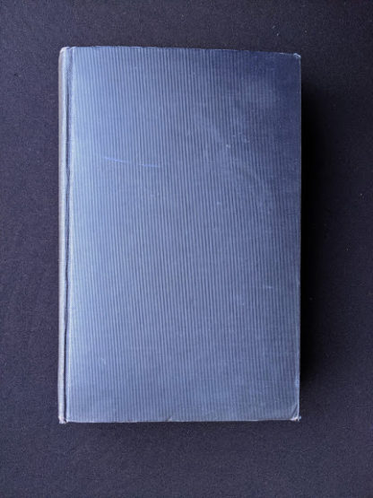 1925 copy of A Study of Modern Drama by Barrett H Clark - First Edition - Back cover
