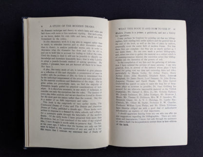 1925 copy of A Study of Modern Drama by Barrett H Clark - First Edition - what is this book and how to use it
