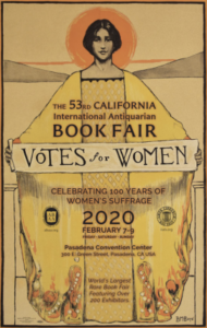 53rd California International Antiquarian Book Fair Poster