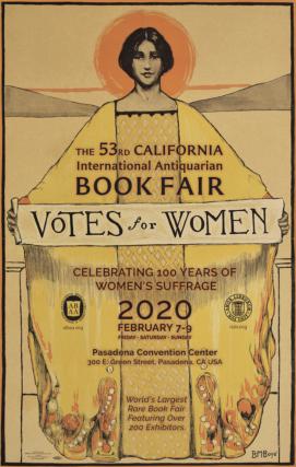 53rd California International Antiquarian Book Fair Poster