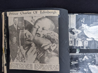 Baby picture of Prince Charles Philip Arthur George of Edinburgh