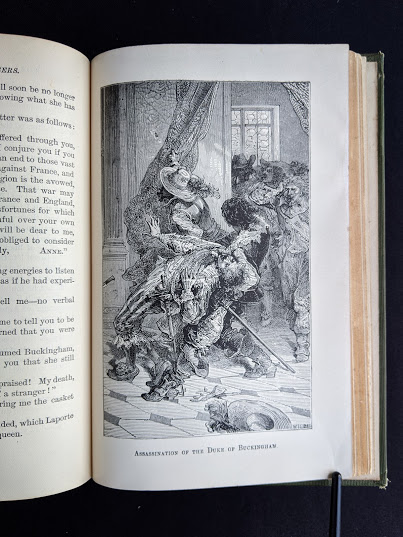 illustration of the assassination of the Duke of Buckingham