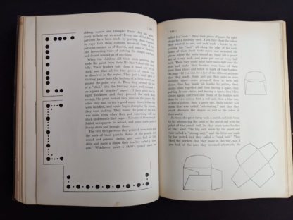 pages inside a 1926 copy of Master Book 1 - Beginning the Use of Tools and Materials Published by Lewis E Myers & Company