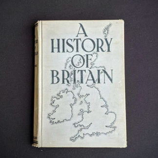 1937 uncommon copy of A History of Britain by H. B. King macmillan company of canada ltd
