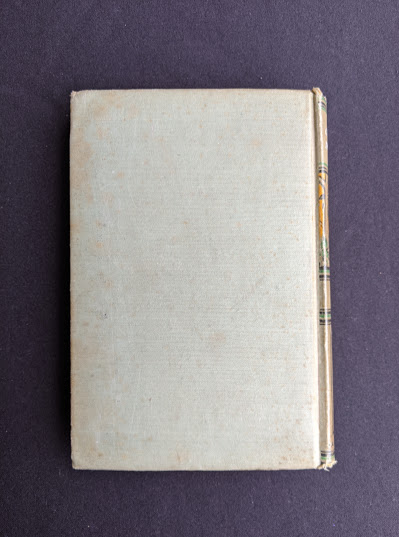 Backside of a copy of To Greenland and the Pole by Gordon Staples - 1890s circa