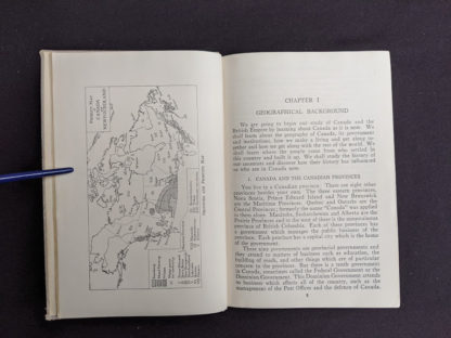 Chapter 1 in a 1937 copy of A History of Britain by H. B. King - macmillan company of canada ltd