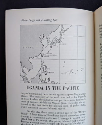 Uganda in the Pacific -The Far Distant Ships an official account of Canadian naval ships in WW II - 1950 1st Edition