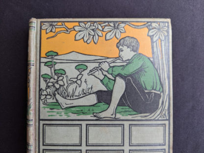 front cover on a copy of To Greenland and the Pole by Gordon Staples - 1890s circa