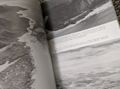 photograph inside a 1964 copy of Landforms of British Columbia - A Physiographical Outline by Stuart S. Holland