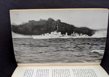 photograph of a Canadian Ship in the second World war - The Far Distant Ships an official account of Canadian naval ships in WW II - 1950 1st Edition