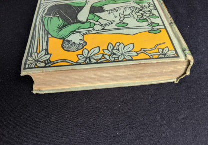 top edge of textblock of a copy of To Greenland and the Pole by Gordon Staples - 1890s circa