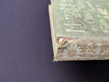 1915 Marys Meadow and Other Tales of Field Flowers by Juliana Horatia Ewing - Damage to head of spine