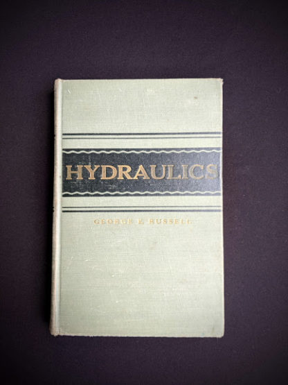 1948 Hydraulics by George Russell - 5th edition