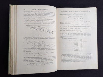 1948 Hydraulics by George Russell - 5th edition - page 208 and 209