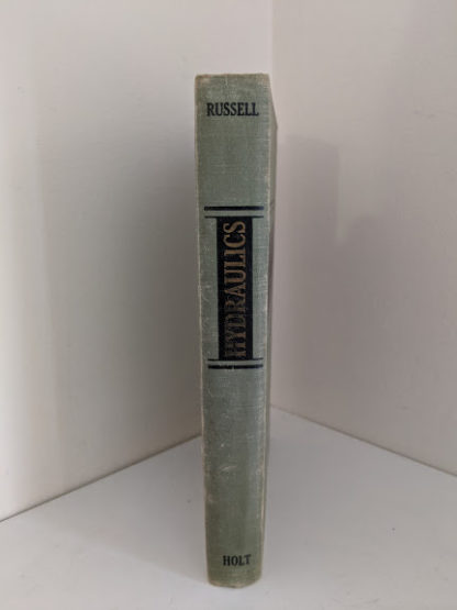 1948 Hydraulics by George Russell - 5th edition - spine view