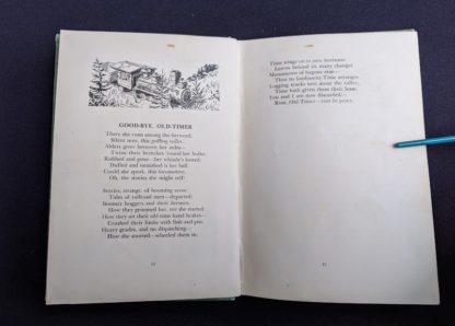 Good Bye Old Timer - 1943 copy of Rhymes of a Lumberjack by Robert E. Swanson