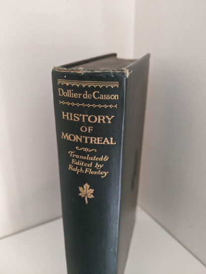 Head of spine - 1928 limited edition of Montreal 1640-1672 - From the French of Collier De Casson