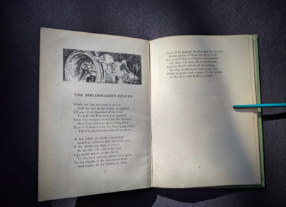 The Boilermakers Heaven - 1943 copy of Rhymes of a Lumberjack by Robert E. Swanson