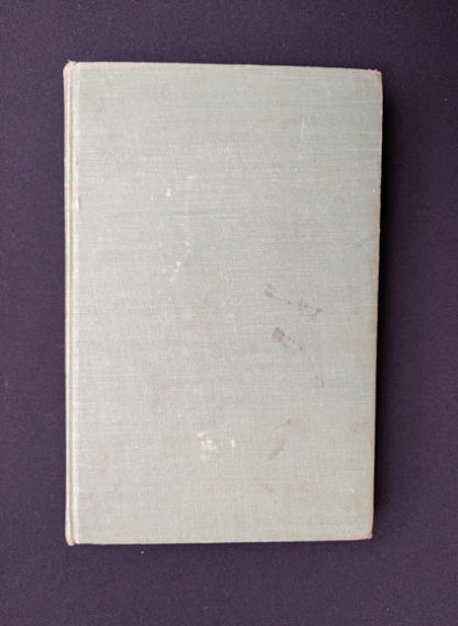 back cover of a 1948 copy of Hydraulics by George Russell - 5th edition