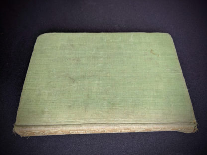 backside of a 1915 copy of Marys Meadow and Other Tales of Field Flowers by Juliana Horatia Ewing