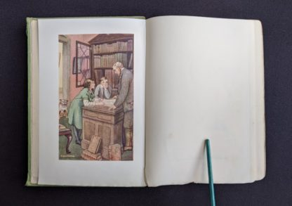 illustration M.V. Wheelhouse inside a 1915 copy of Marys Meadow and Other Tales of Field Flowers by Juliana Horatia Ewing