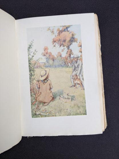 illustration by M.V. Wheelhouse - 1915 copy of Marys Meadow