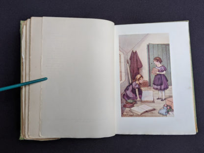 illustration by M.V. Wheelhouse inside a 1915 copy of Marys Meadow and Other Tales of Field Flowers by Juliana Horatia Ewing
