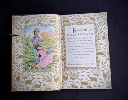 title page inside a 1947 copy of Rubaiyat of Omar Khayyam - Random House