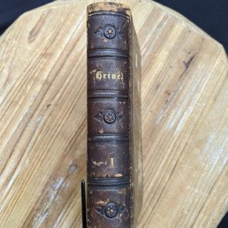 1870 Sämtliche Werke - Heinrich Heine - German Book