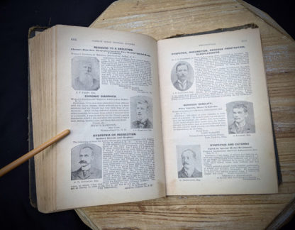 1895 The Peoples Common Sense Medical Adviser by R.V. Pierce M.D. - pages inside
