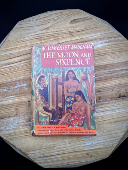 1943 The Moon and Sixpence by W. Somerset Maugham - Photo-Play Edition - front cover