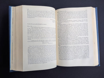 1946 My Three Years With Eisenhower By Harry C Butcher - page 476 and 477