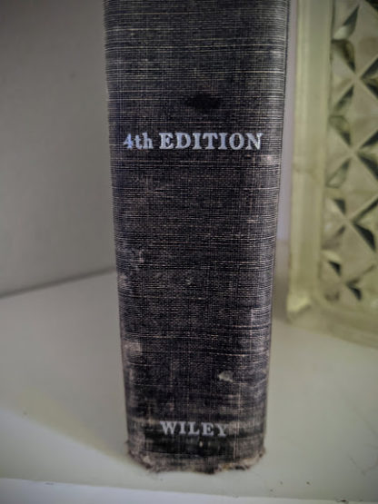 1948 Steam, Air And Gas Power by Severns And Degler 4th Edition - lower spine view