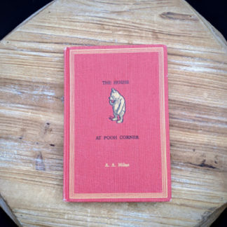 1961 The House at Pooh Corner by A.A. Milne