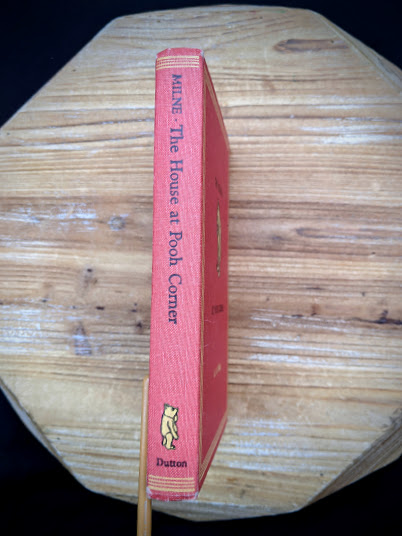 1961 The House at Pooh Corner by A.A. Milne - spine view