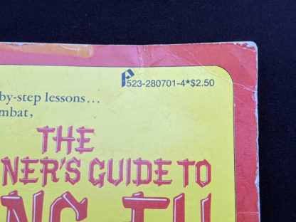 1975 The Beginners Guide to KUNG-FU by Felix Dennis & Paul Simmons - First Printing - price up close