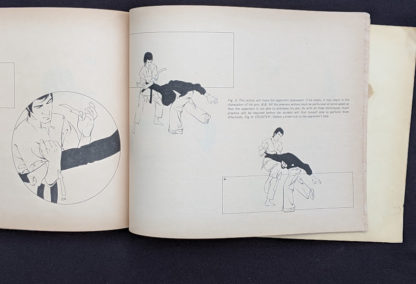Defense - 1975 The Beginners Guide to KUNG-FU by Felix Dennis & Paul Simmons - First Printing