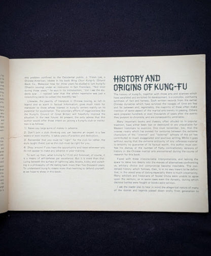 History and Origins of Kung-Fu - 1975 The Beginners Guide to KUNG-FU by Felix Dennis & Paul Simmons - First Printing