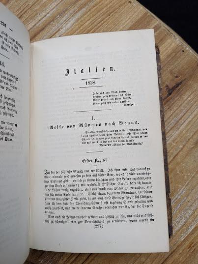 Italien 1928 - 1870 Sämtliche Werke - Heinrich Heine - German Book