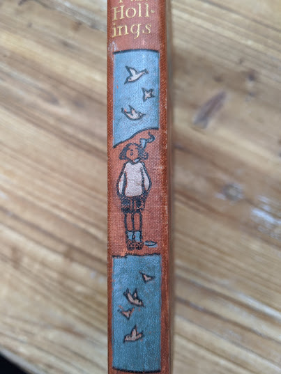 Lady Patience - A Story for Girls by F.S. Hollings - Blackie and Sons Limited - Spine view up close