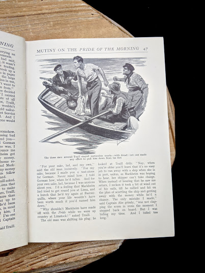 Mutiny on the Pride of the morning - The Canadian Boys Annual - edited by Williams H. Darkin - Undated