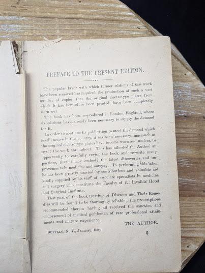 Preface - 1895 The Peoples Common Sense Medical Adviser by R.V. Pierce M.D.