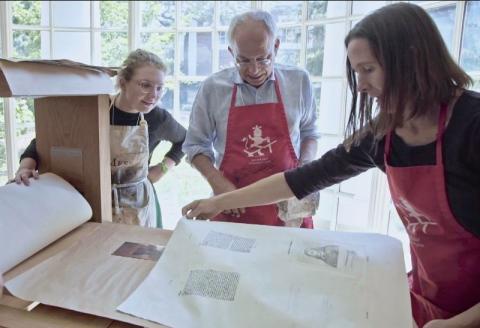 Rare Book School Presents Presswork - a documentary
