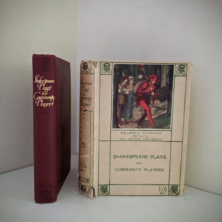 Scarce Circa 1920s Shakespeare Plays for Community Players Pocketbook - Nelsons Classics
