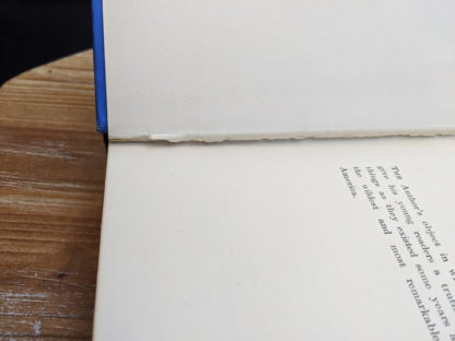 Seam split between Preface and title page