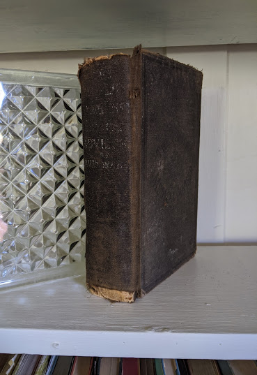Spine view - 1895 The Peoples Common Sense Medical Adviser by R.V. Pierce M.D.